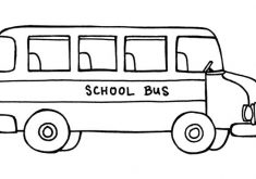 235x165 Download Bus Coloring Page