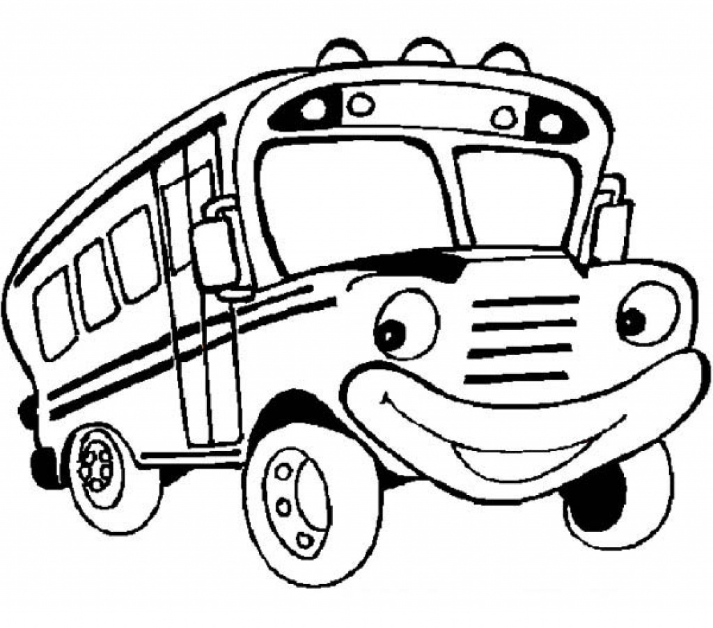 1024x902 Download Coloring Pages. School Bus Coloring Page School Bus