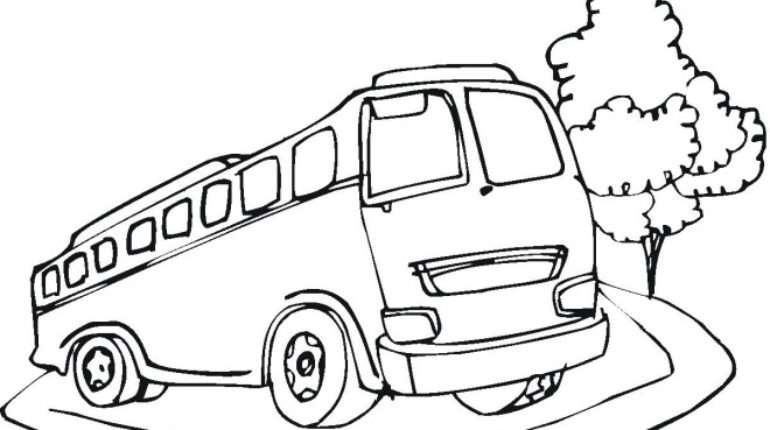 770x430 24 Cool Magic School Bus Coloring Pages