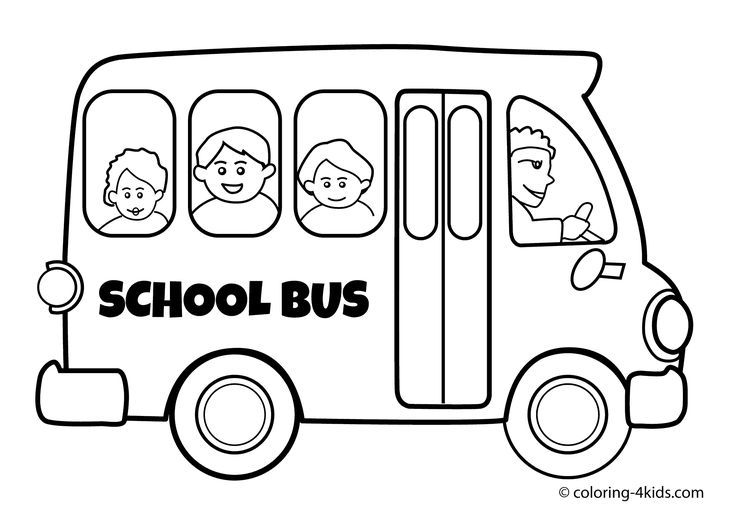736x525 best 25 school bus clipart ideas school bus - Coloring Page Of A School