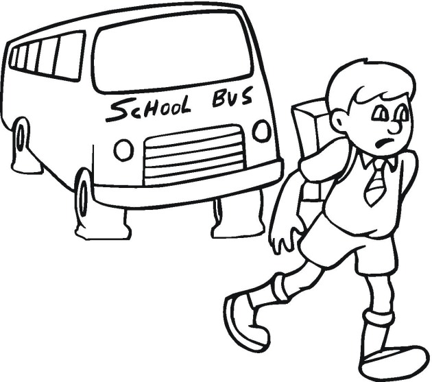 630x557 school bus coloring page 1st day school gianfreda 229949