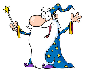 300x254 Wizard Clipart Image