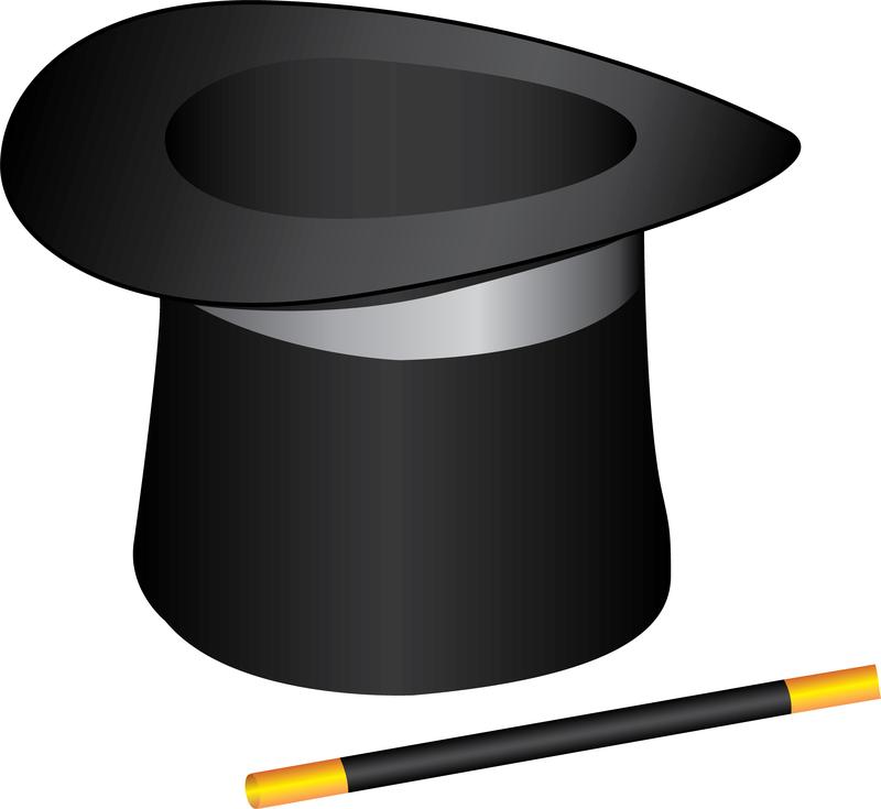800x735 Magician Clipart Magic Hat