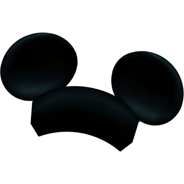 600x600 Mickey Mouse Ears Clip Art