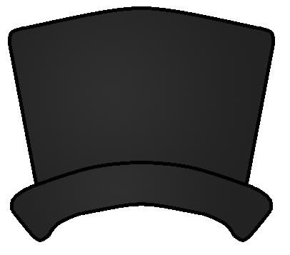 406x357 Snowman Hat Clipart