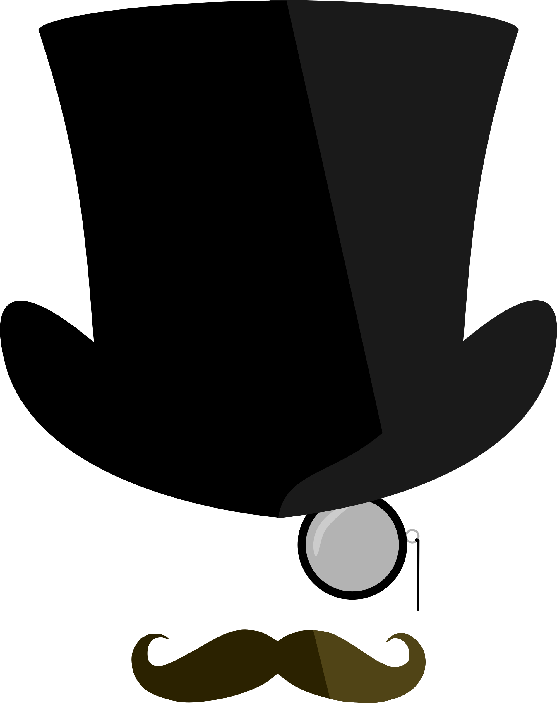 1903x2400 Top Hat Clipart Classy