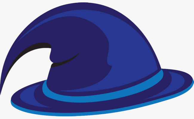 650x400 Blue Magician Hat, Blue, Magician Hat, Blue Hat Png Image For Free
