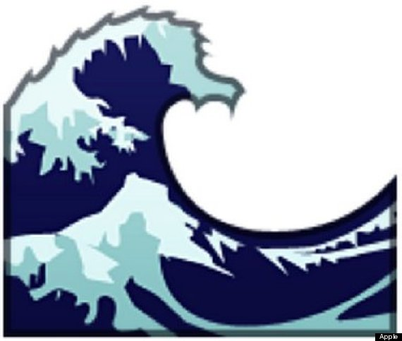 570x483 Wave Clipart Emoji