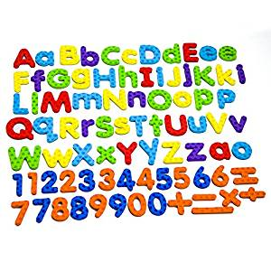 300x300 Magnetic Letters And Numbers For Educating Kids In Fun