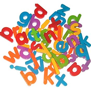 350x350 Colourful Fridge Magnets A B C Alphabet Strong Magnets Magnetic