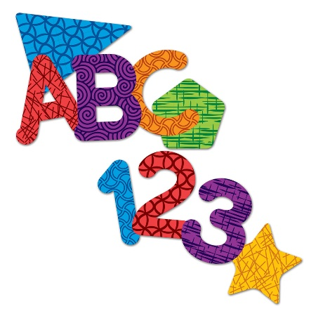 450x450 Magnetic Letters, Numbers Amp Shapes