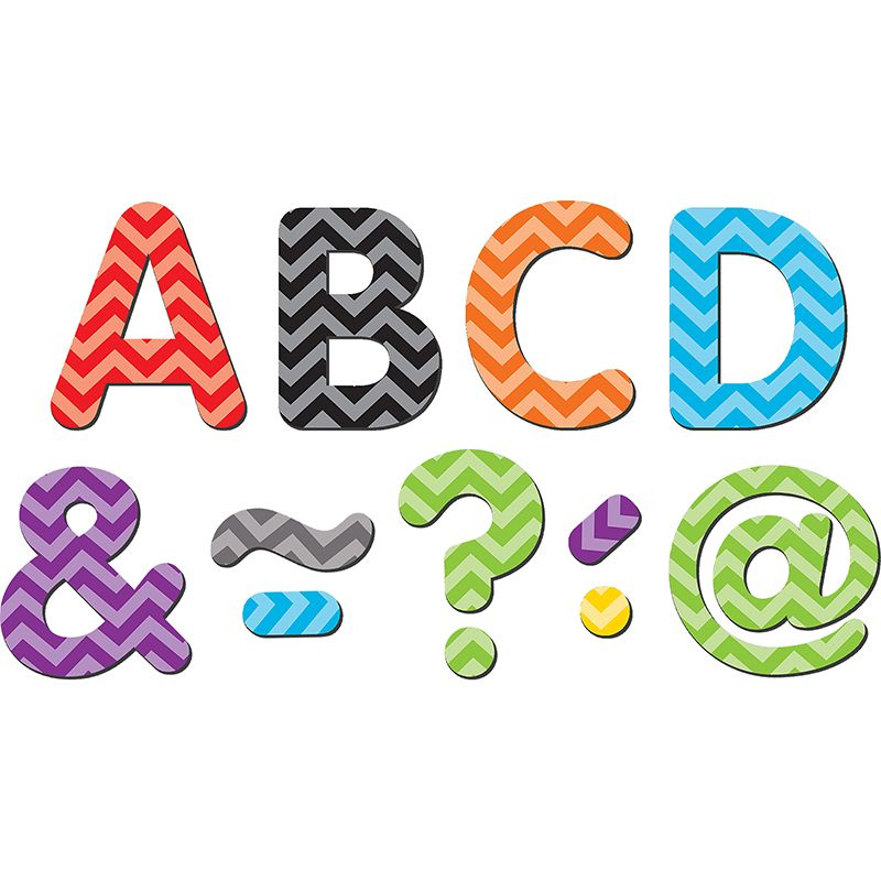 800x800 Magnetic Letters