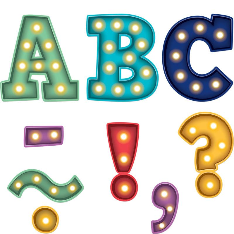 800x800 Marquee Bold Block 3 Magnetic Letters