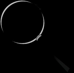 299x297 Magnification Glass Clip Art