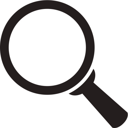 414x414 Magnifying Glass Clipart