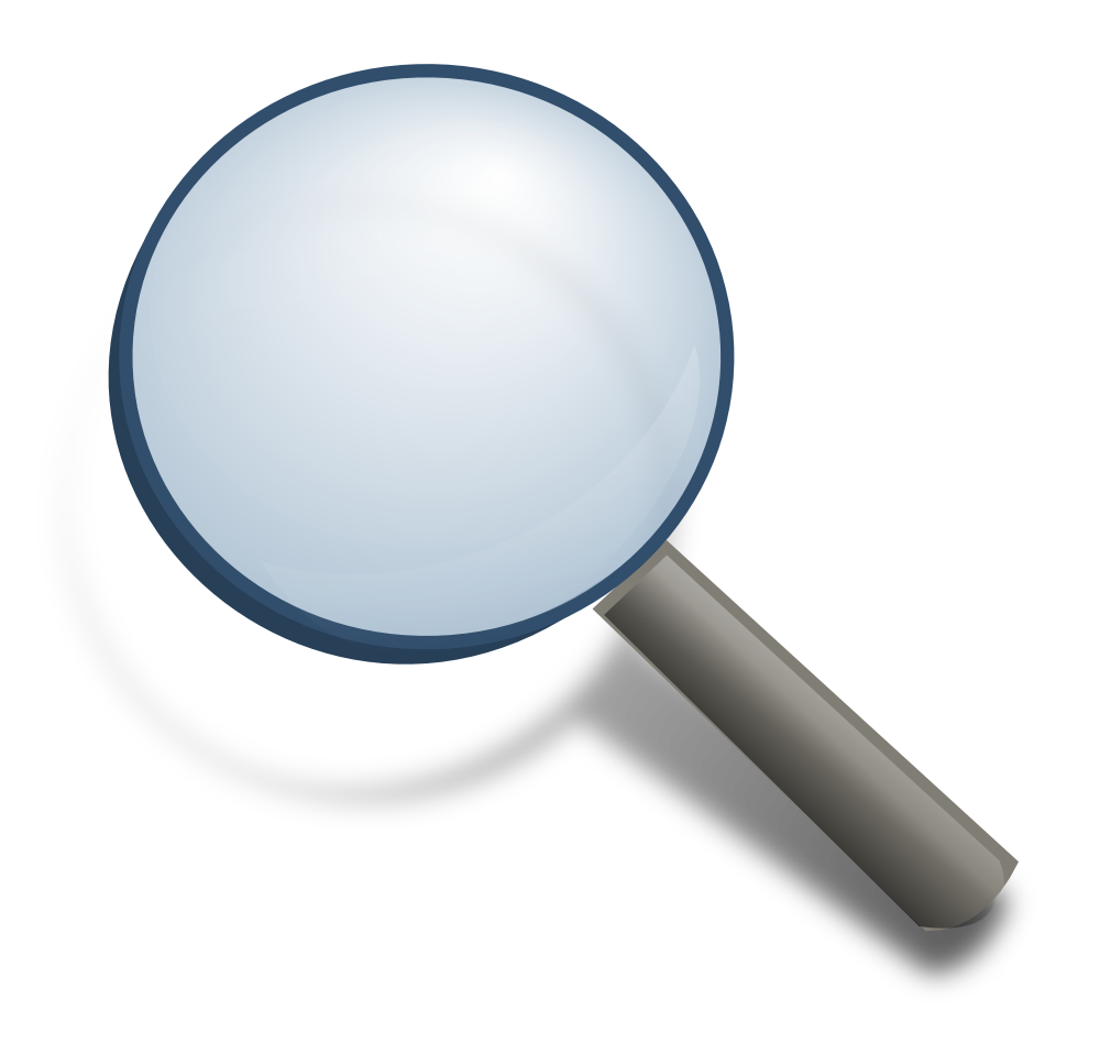 1000x948 Magnifying Glass Clipart