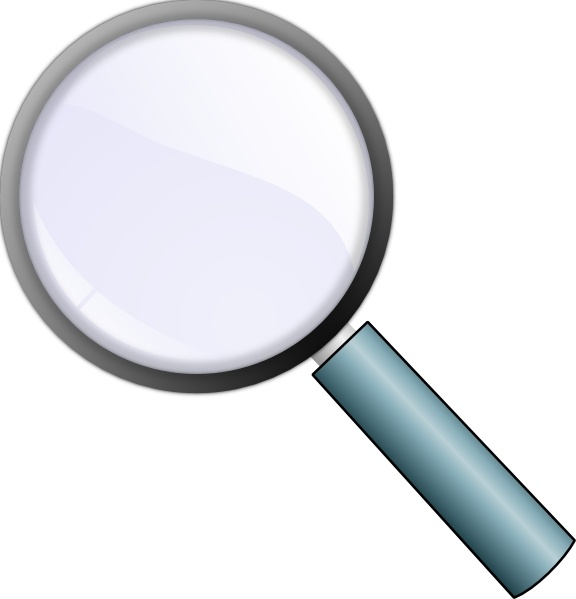 576x599 Magnifying Glass Clip Art Free Vector In Open Office Drawing Svg