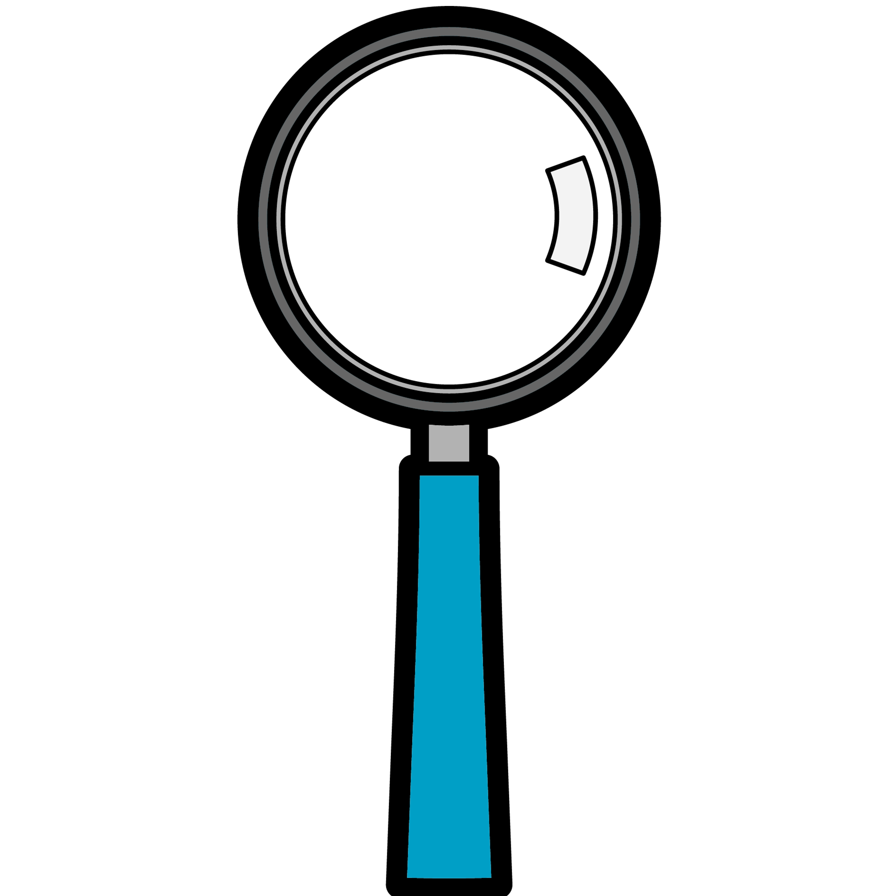 3600x3600 Magnifying Glass Detective Clipart Free Clipart