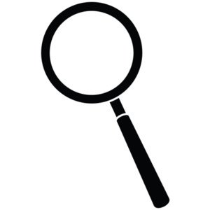 300x300 Clipart Magnifying Glass Clipart 2