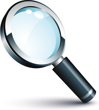 332x368 Vector Magnifying Glass Free Vector Download (2,250 Free Vector