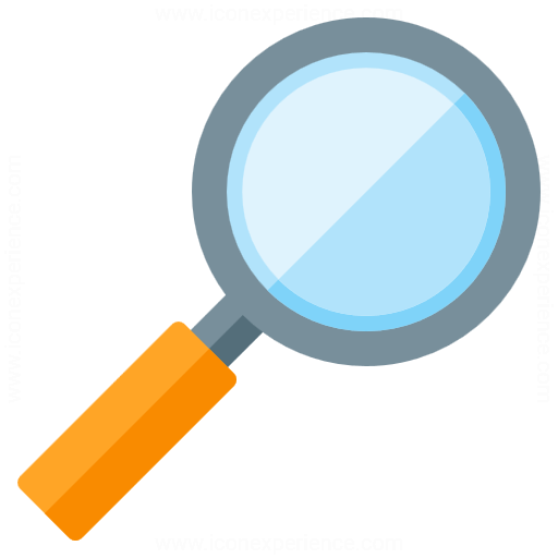 512x512 Iconexperience G Collection Magnifying Glass Icon