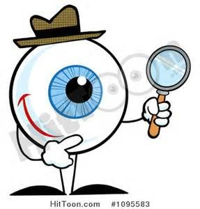 Magnifying Glass Book Clipart