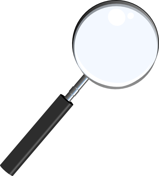 534x593 Magnifying Glass Clip Art Free Vector 4vector