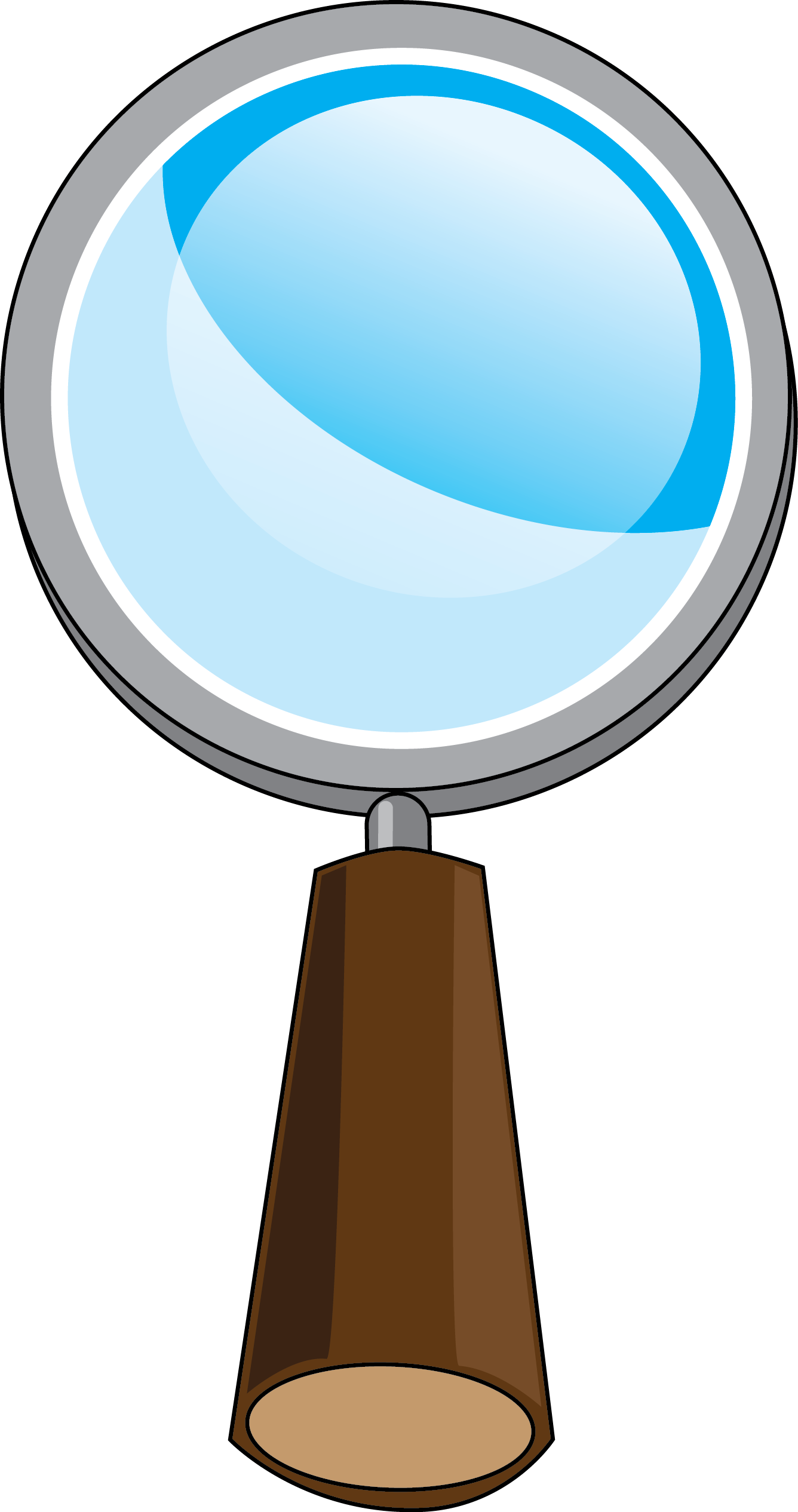 1336x2531 Cartoon Magnifying Glass Clipart
