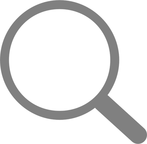 Magnifying Glass Clipart Black And White