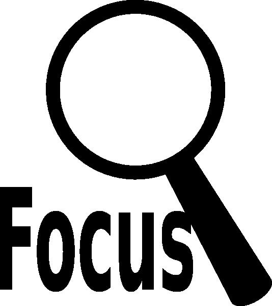 534x599 Magnifier Focus Clip Art