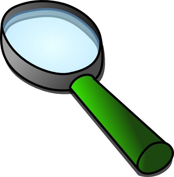 588x598 Magnifier Glass Clip Art Free Vector In Open Office Drawing Svg