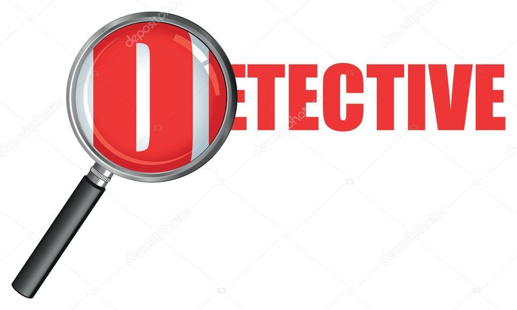 1022x614 Detective Magnifying Glass Stock Vector Jameschipper