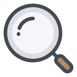 256x256 Magnifying Glass Icon Pack (Png, Vector)