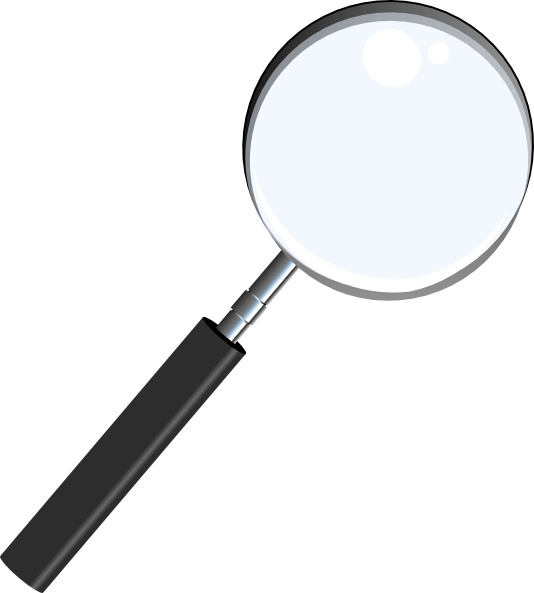 534x593 Magnifying Glass Clip Art Free Vector In Open Office Drawing Svg