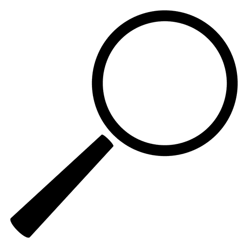 512x512 Simple Magnifying Glass