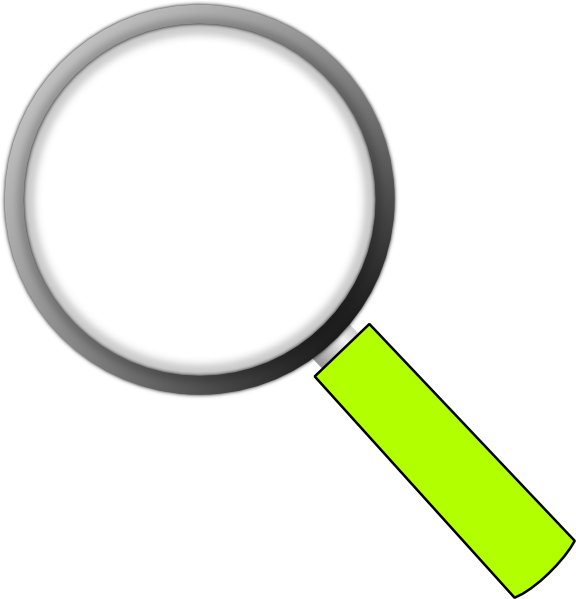 576x599 Transparent Magnifying Glass Clip Art