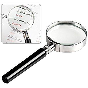 350x350 Lemeng Portable 80mm Diameter 5x Magnifying Glass