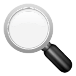 256x256 Left Pointing Magnifying Glass Emoji For Facebook, Email Amp Sms