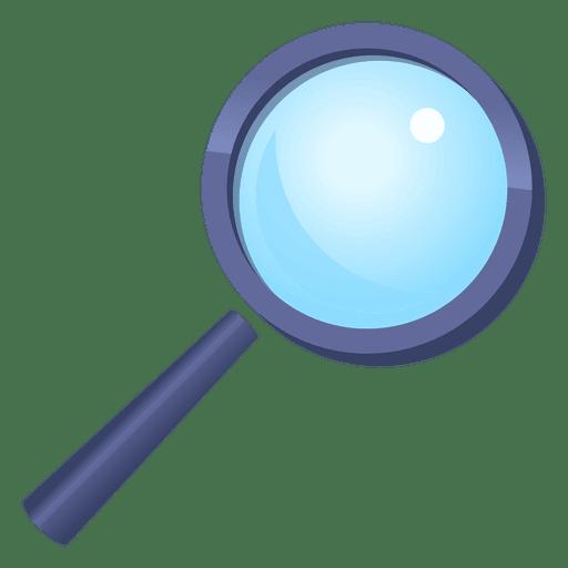 512x512 Magnifying Glass Cartoon