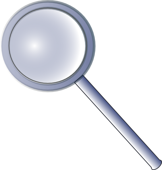 564x594 Magnifying Glass Clipart The Cliparts 3