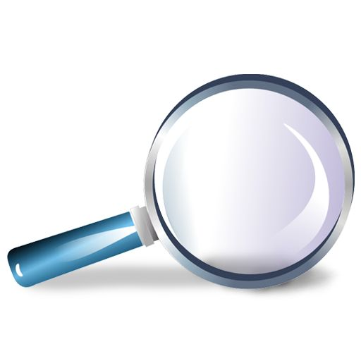 512x512 Magnifying Glass Clipart Transparent Background 3