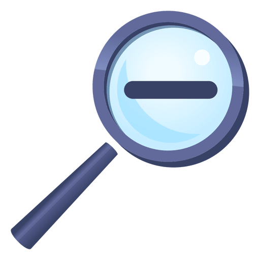 512x512 Magnifying Glass Zoom Out