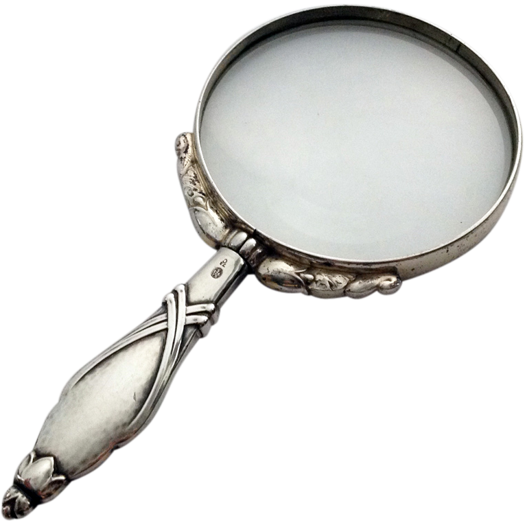 765x765 Drawn Goggles Magnifying Glass