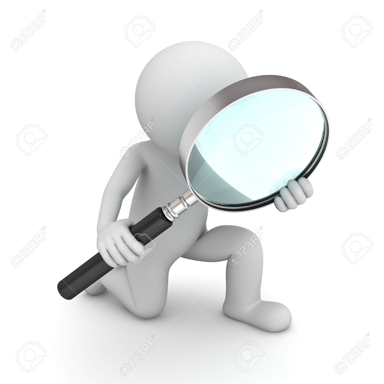Magnifying Glass Transparent Background