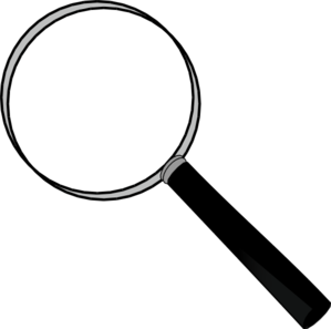 299x297 Notice Clipart Magnifying Glass