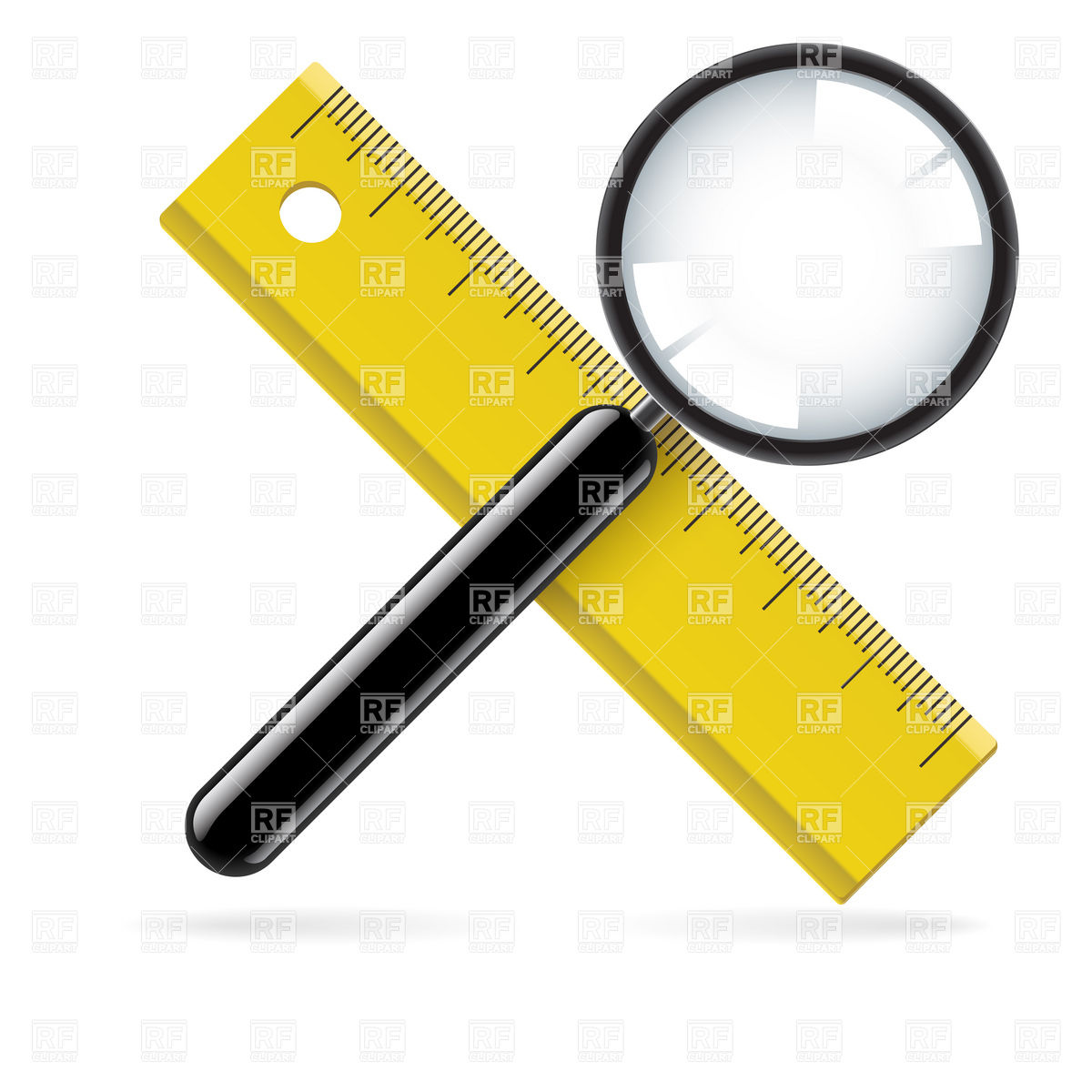 1200x1200 Transparent Ruler On Checkered Background Royalty Free Vector Clip