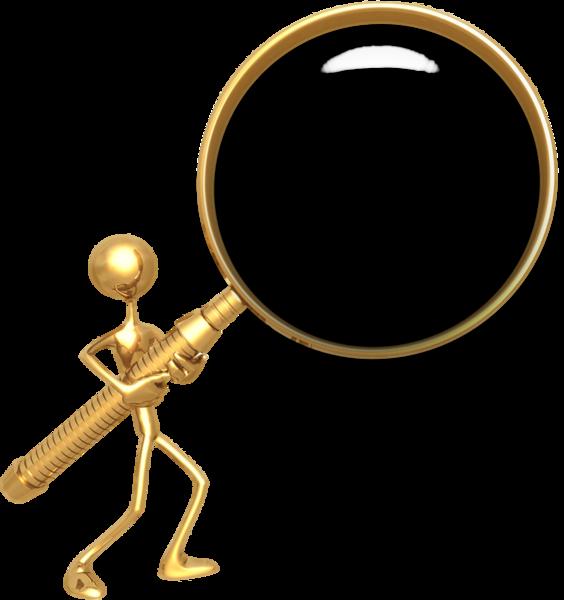 564x600 Gold Magnifying Glass (Psd) Officialpsds