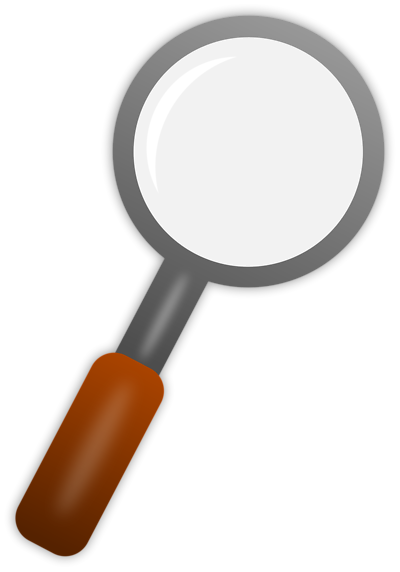 400x572 Magnifying Glass Clipart Transparent Background