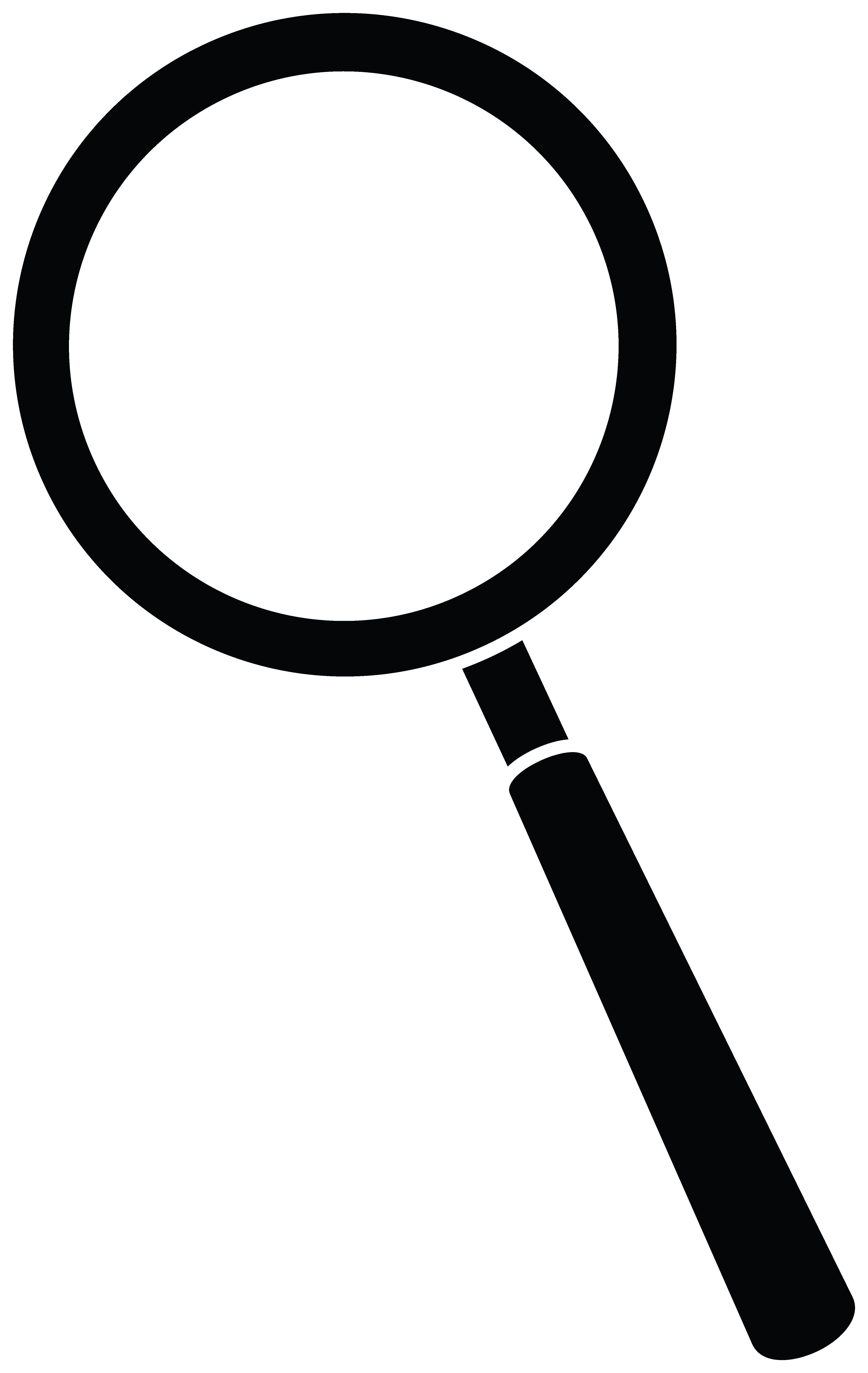 4166x6590 Magnifying Glass Silhouette Clipart Panda