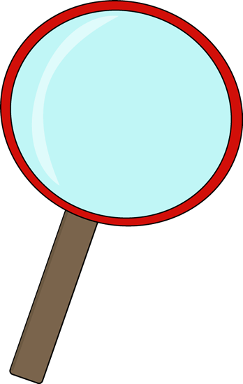 348x550 Red Magnifying Glass Clip Art
